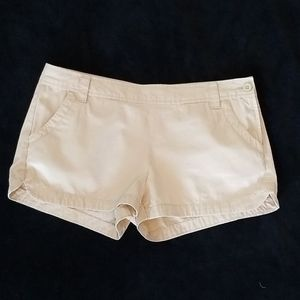 Old Navy mid-rise shorts.